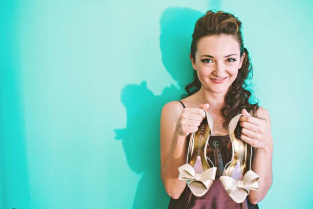 portfolio - wedding shoes portrait